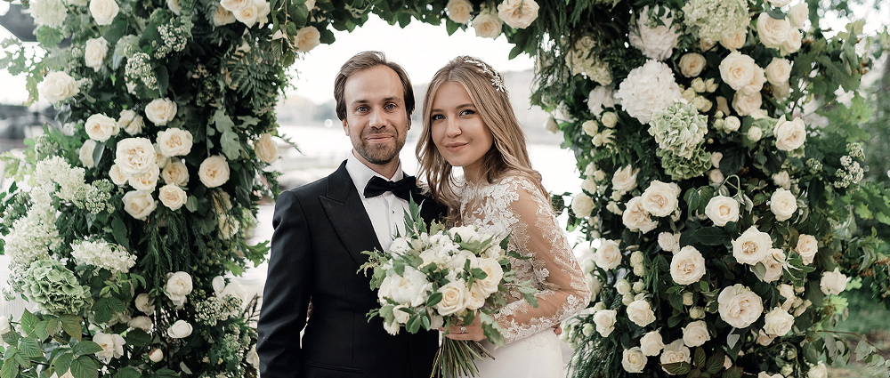 Russian-French wedding: wedding of Irina and Charles in Moscow