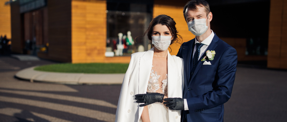 """We got married at the height of the coronavirus"": the real story of a couple"