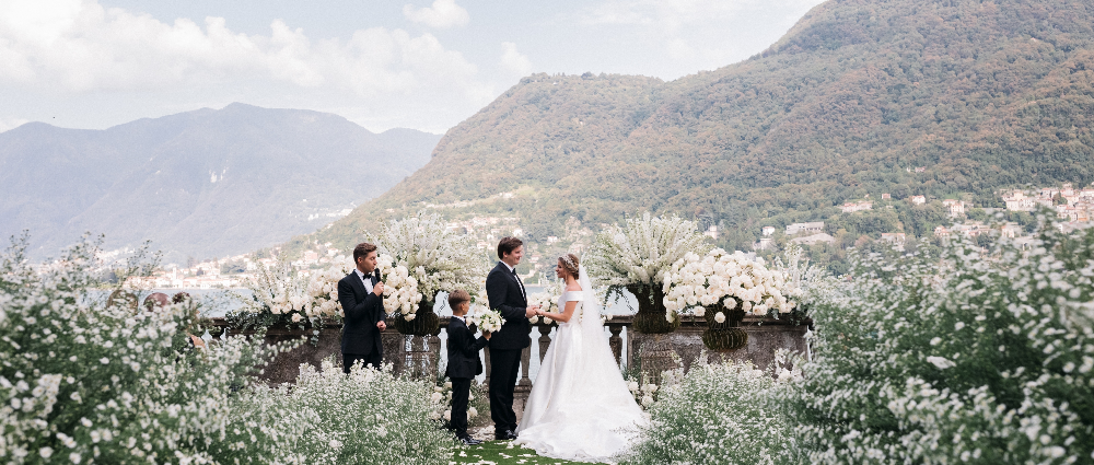 """In the garden of your soul"": a picturesque wedding"
