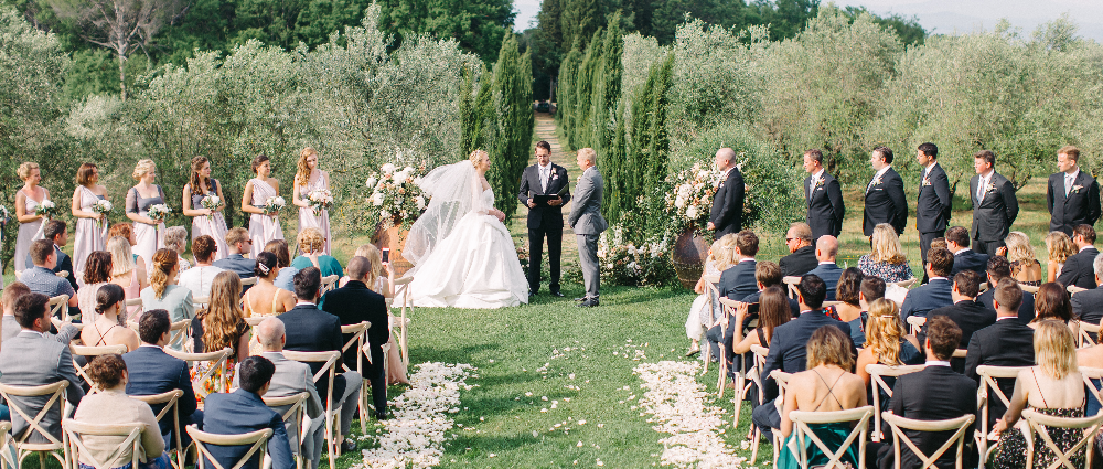Russian-American wedding with an Italian accent: the experience of an organizer