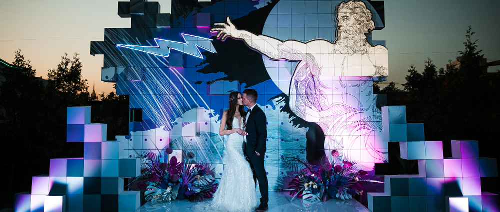 """Like a thunderbolt"": a wedding in the footsteps of ancient Greek mythology"