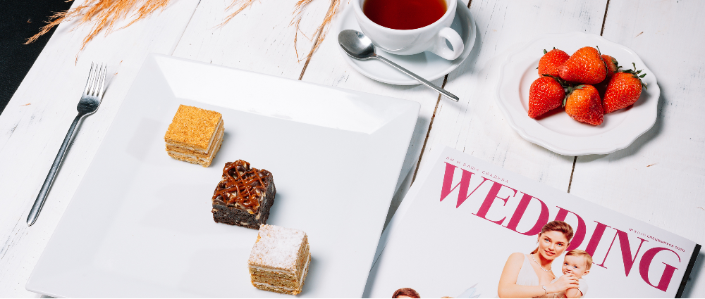 Get Wedding magazine as a gift: a joint promotion with Corso Catering