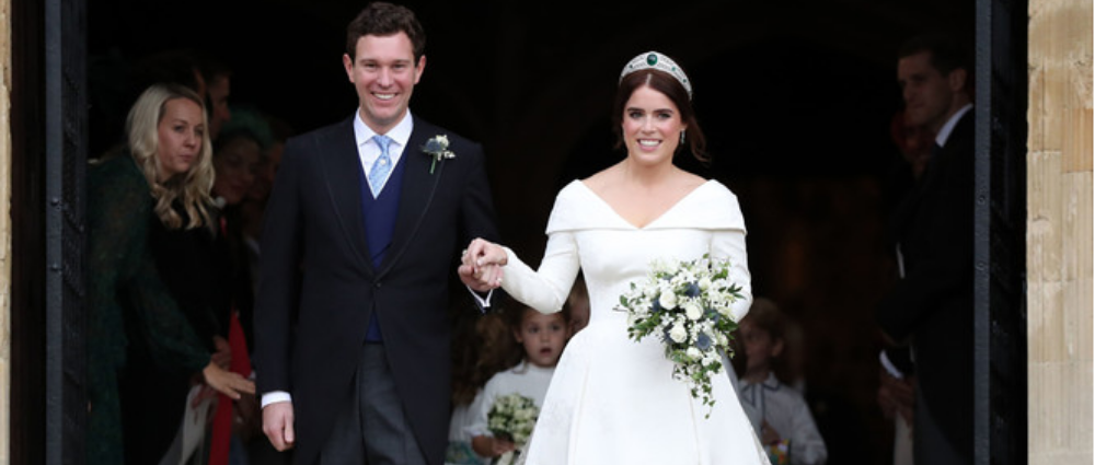 Princess Eugenia's wedding: remember how it was