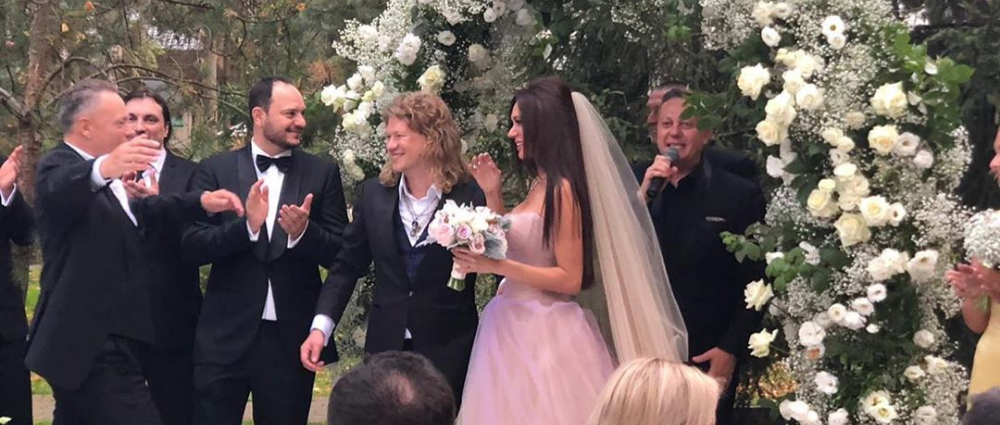 Ex-lead singer of the Chelsea group Roman Arkhipov got married: details of the wedding in the Moscow region