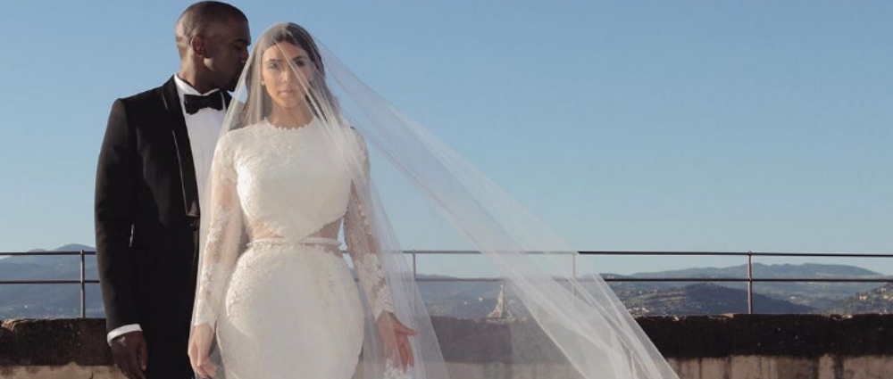 Photo of the day: Kim Kardashian showed her favorite shot from the wedding