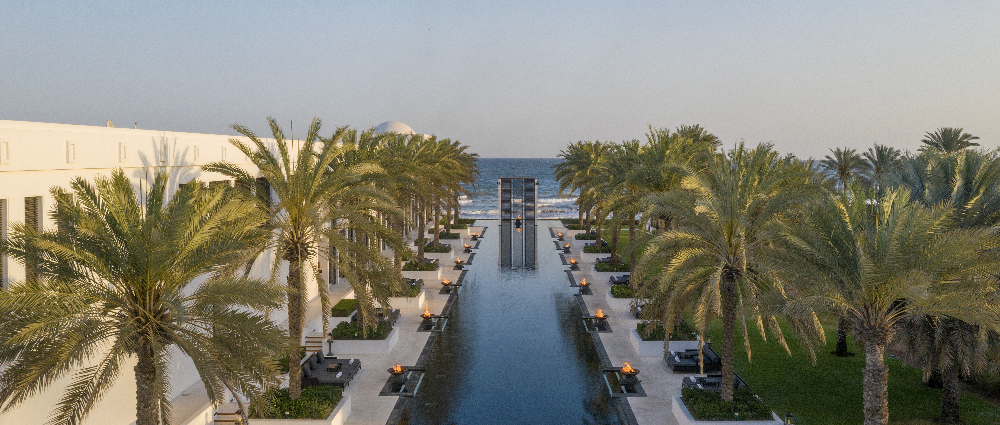 Wedding in Oman: ceremony at The Chedi Muscat